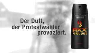 Werbung: Axx Populismus