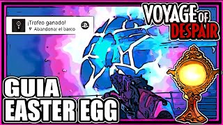 COMO HACER EASTER EGG VOYAGE OF DESPAIR TROFEO BLACK OPS 4 ZOMBIES