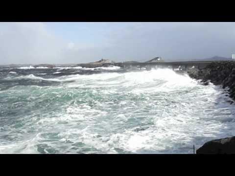 Storm at The Atlantic Road