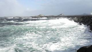 Storm at The Atlantic Road