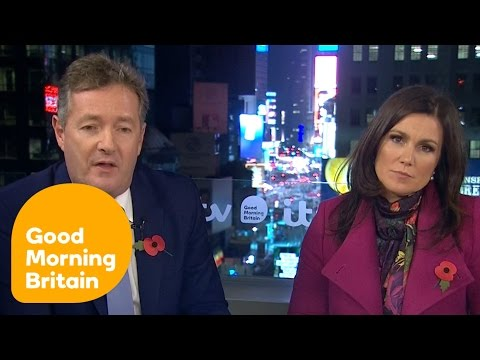 Donald Trump Is the 45th President of the United States | Good Morning Britain