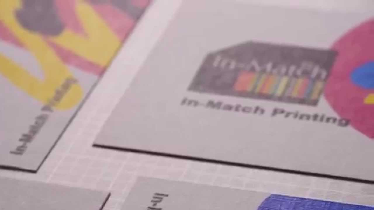 Business cards Embossed Linen - YouTube