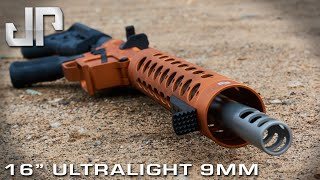 """16"""" Ultralight 9mm - New Product Showcase - May 2019"""