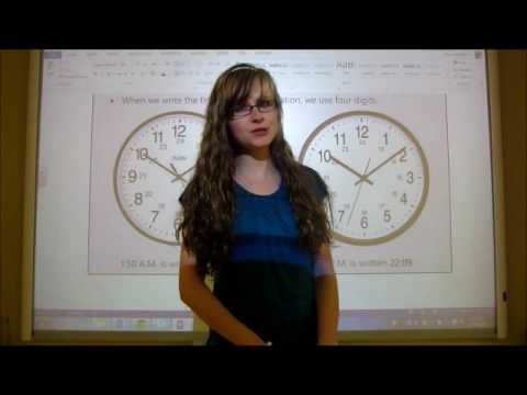 Grade 4 Math Lesson On 24-Hour Time (4.6)