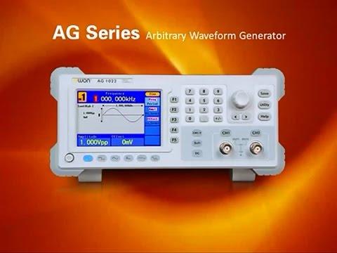 Owon Ag1022 Dds Arbitrary Waveform Generator Doovi