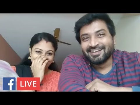 Tamil Serial Real Couple Senthil and Sreeja Talks About KCA-6 (Final Episode) | Facebook Live |