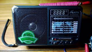 Radio China Internacional 7,300 kHz.[ En Esperanto, Lengua Artificial ].China-Kashi-Saibagh.