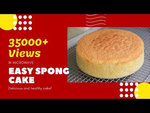 Easy Sponge Cake Recipe In Microwave