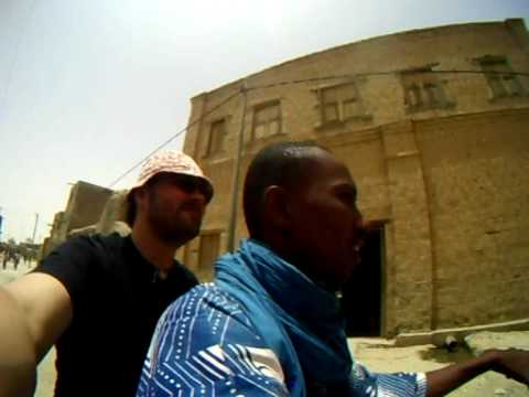 On Motorbike Through the City of Timbuctou with Ibrahim