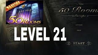 New 50 Rooms Escape Level 21 Walkthrough