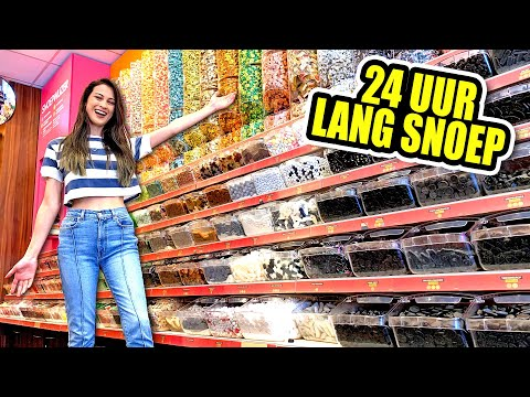 24 UUR LANG ALLEEN MAAR SNOEP ETEN  Fan Friday