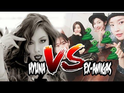 Hyuna VS Ex-amigas