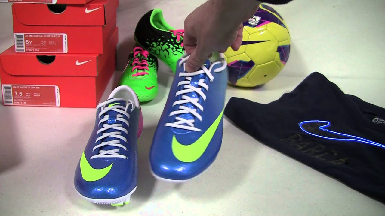 Nike Mercurial Veloce FG Soccer Cleats - Neptune Blue with Pink Flash Video  Review - SoccerPro.com