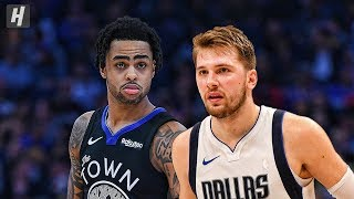 Dallas Mavericks vs Golden State Warriors - Full Highlights | January 14, 2020 | 2019-20 NBA Season