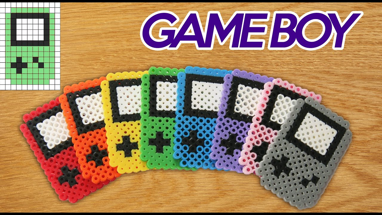 Hama Beads Hacer Una Game Boy Color Youtube