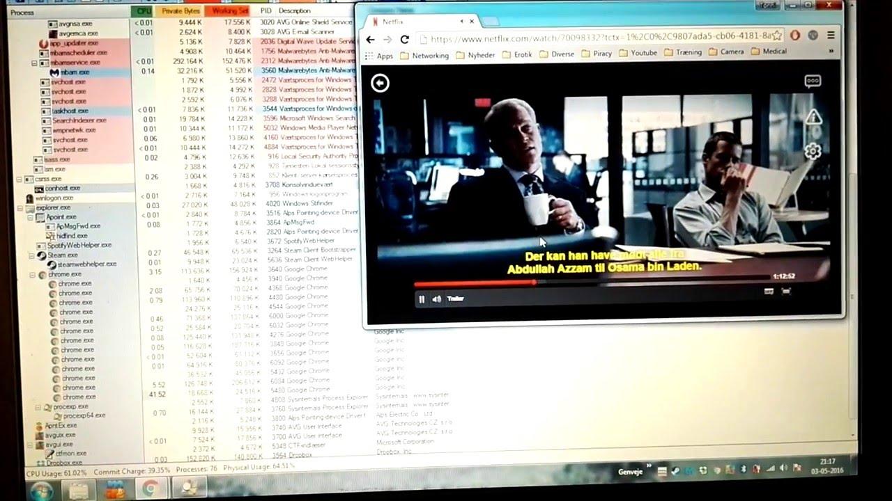 Netflix causing on/off pc hard freeze every three seconds?