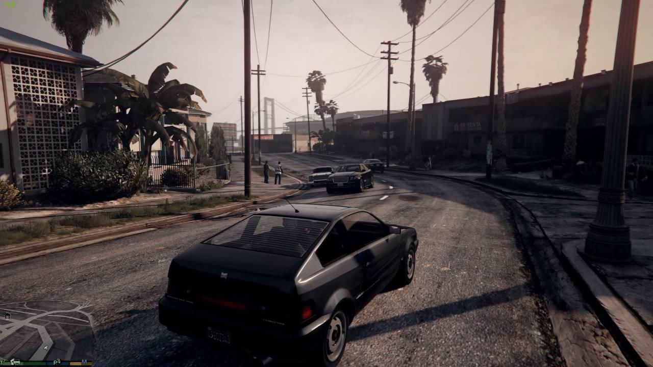 GTA V | Redux | Dark & Realistic ReShade