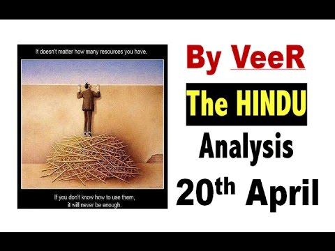 20 Apr-2017-The Hindu Full Editorial Discussion + PIB Analysis-[El Nino,La Nina,Trump effect ]