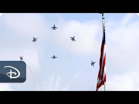 U.S. Navy Blue Angels Roar Down Main Street, U.S.A. | Walt Disney World Resort