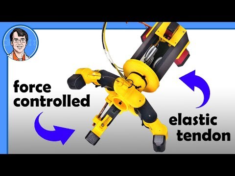 Building a Force Controlled Robot Gripper | James Bruton