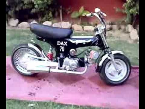 honda dax tuning youtube