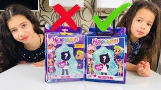 #HAIRDORABLES Оригинал и подделка / РЕДКАЯ кукла Hairdorables