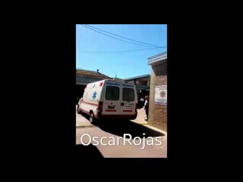 Uno de los gendarmes heridos por los prófugos fue trasladado para su atención al Cullen