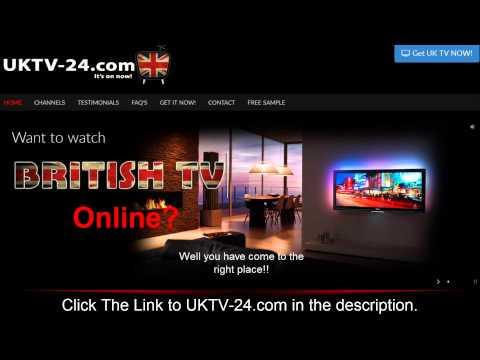 NEW! Watch British TV Online - 2015