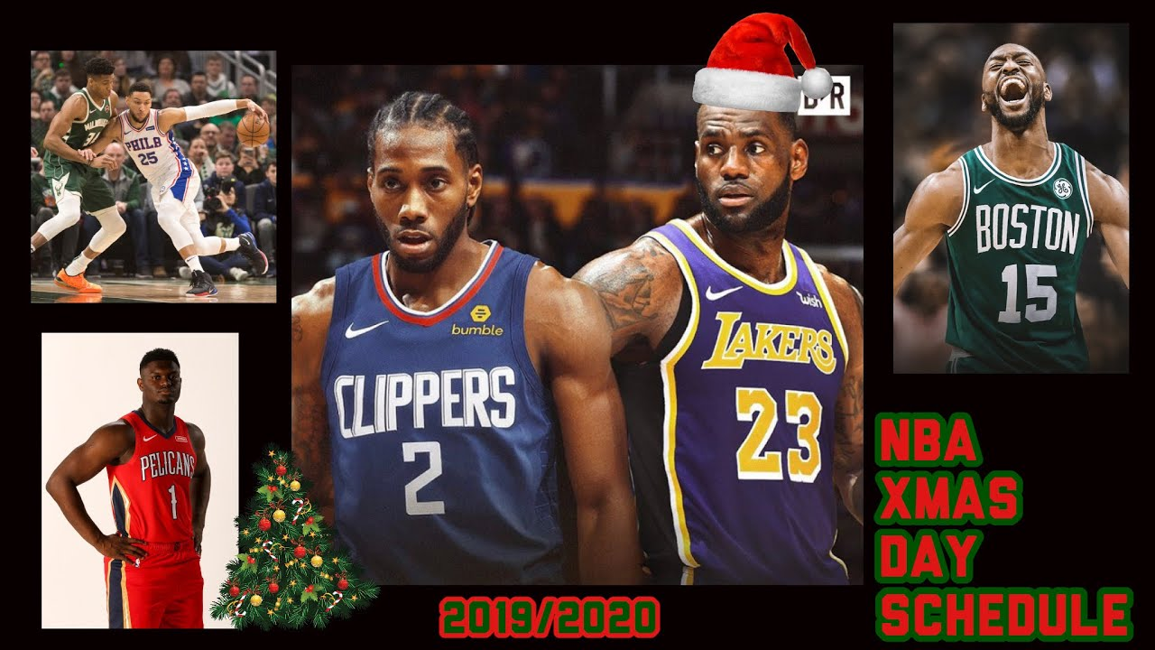 2020 Nba Christmas Schedule NBA CHRISTMAS DAY SCHEDULE REVEALED!! LAKERS VS CLIPPERS!! +OTHER