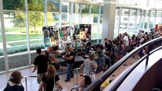 Adam Lambert Springfield - Merchandise and Anti-Anti Gay protest across street