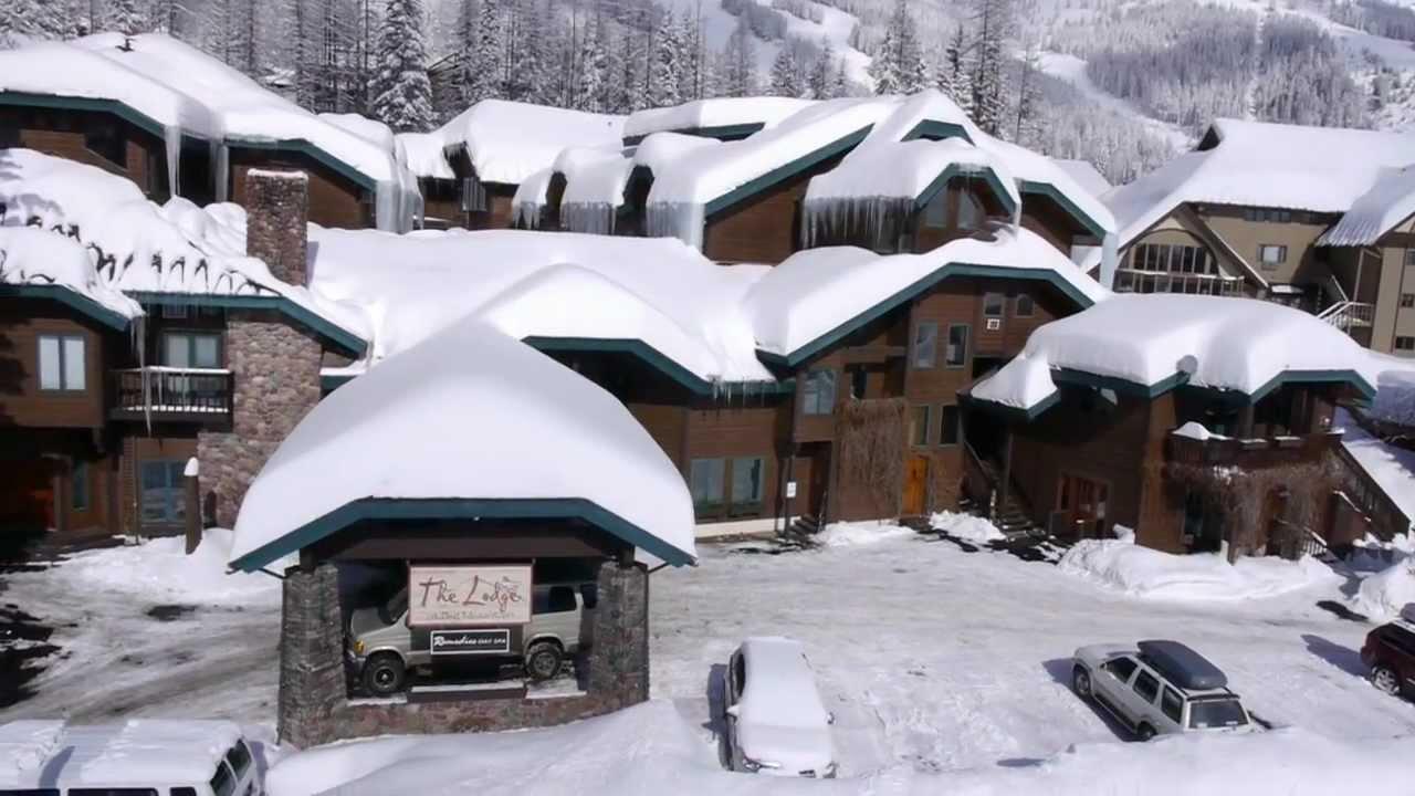 winter ski-in lodging at whitefish mountain resort, kandahar lodge