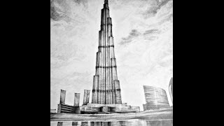 Burj Khalifa, Construction Hindi