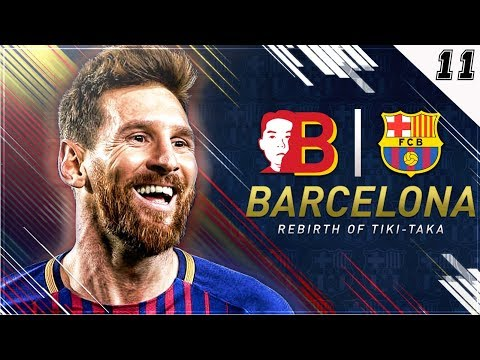 """CHECK OUT MY NEW SET-UP + MESSI ENDING CAREERS!"" FIFA 18 Barcelona Career Mode EP 11"
