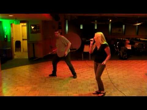 Autism Behavior Karaoke an adult with Autism Cathie Singing