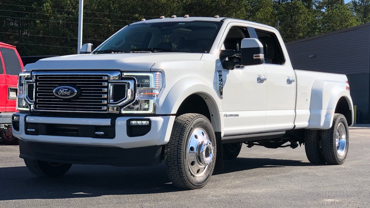 2020 Ford F450 Super Duty Configurations