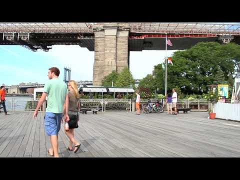 Brooklyn Bridge and Brooklyn Bridge Park New York