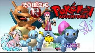 ROBLOX Pokemon Adventures Roleplay - France Va aleg pe voi,Charmander si Pikachu! Ep 1