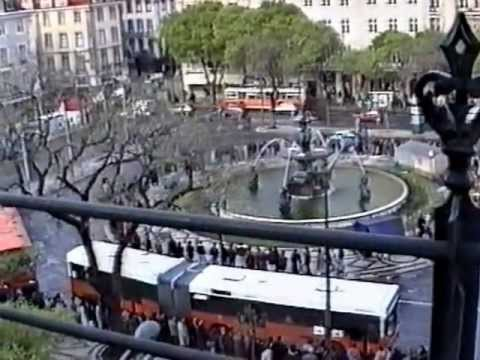 Portugal Trains (and buses) 1992 Part 1