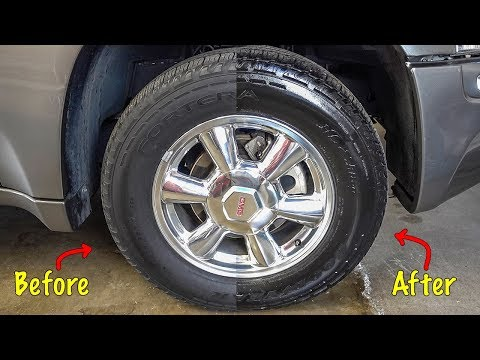 DOES CHEAP TIRE SHINE ACTUALLY WORK? [with PROOF!]