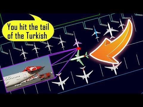 [REAL ATC] Asiana A330 hits Turkish Airlines A321 at Istanbul!