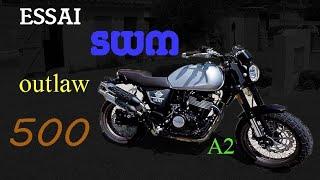 Essai SWM outlaw 500 // Super …