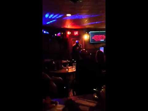 Robbie at Hong Kong island karaoke