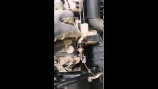 Réparation pompe à injection