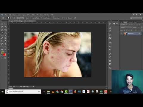 #31 Spot Healing Brush  Tool || Adobe Photoshop Tutorial in Hindi/Urdu Complete Course thumbnail