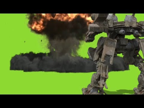 Future Robot || HD Stock Green Screen Il VFX Effect II Chroma Key || Kinemaster Effect ||
