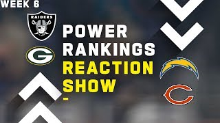 Week 6 Power Rankings Reaction Show