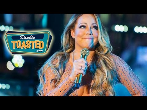 MARIAH CAREY LIP SYNCS AT NEW YEARS PERFORMANCE - Double Toasted Highlight