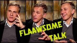 Why Christoph Waltz is not like other Hollywood stars…