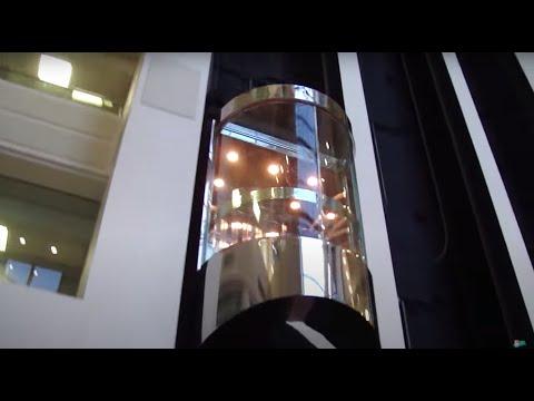 Beautiful Otis Scenic Traction elevator @ 2 Eaton Harbour Centre Hampton VA