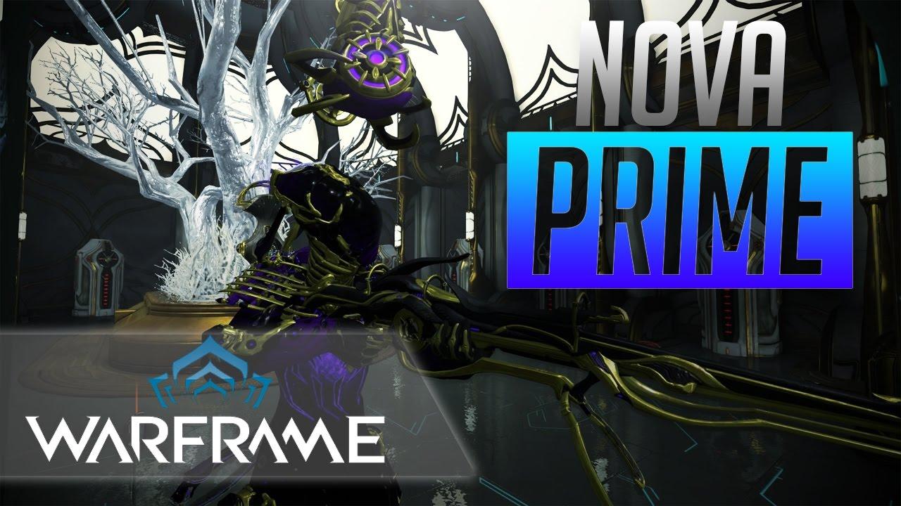 Warframe Nova Build
